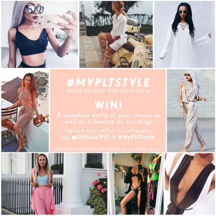 PrettyLittleThing Style Competition - Win a Free Outfit with a selife