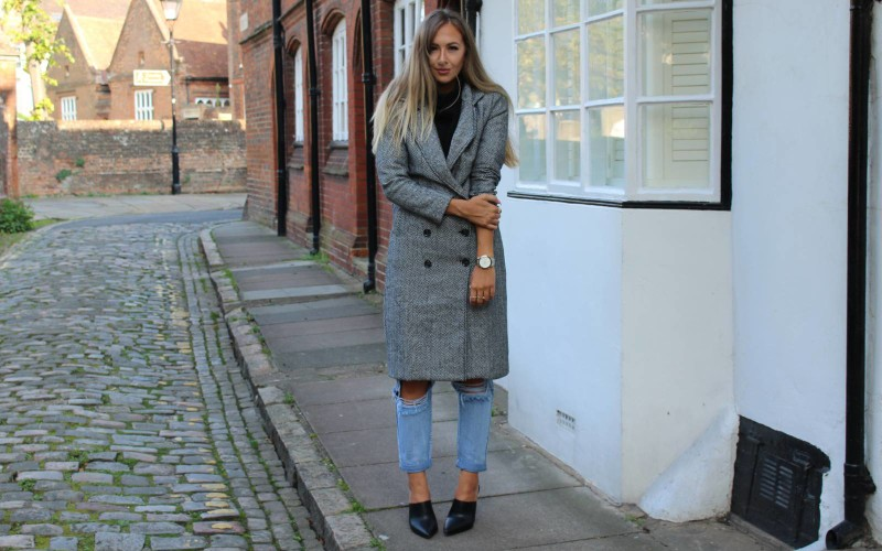 Blogger wears PLT