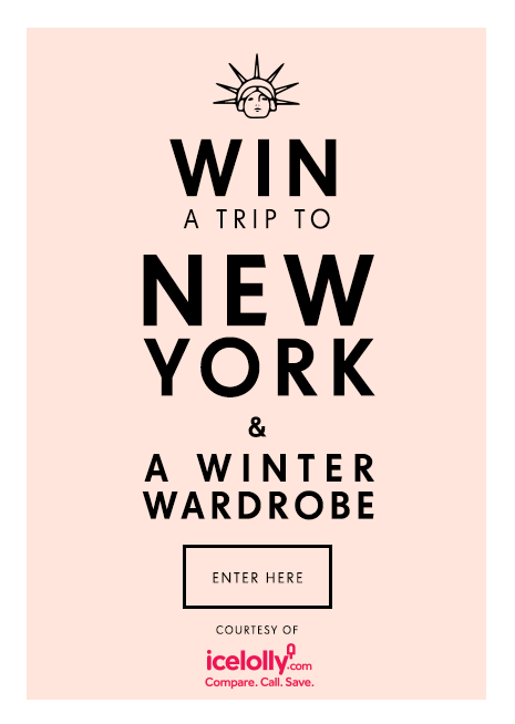 WIN a trip to New York, including flights and accomodation, courtesy of PrettyLittleThing and IceLolly