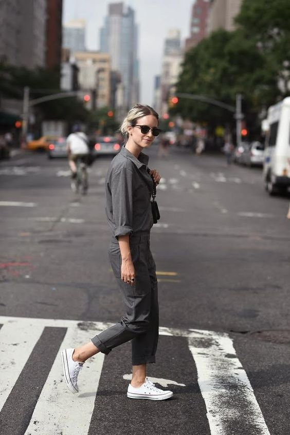 street-style-khaki-fashion-week-utility-army-jumpsuit-boiler-suit