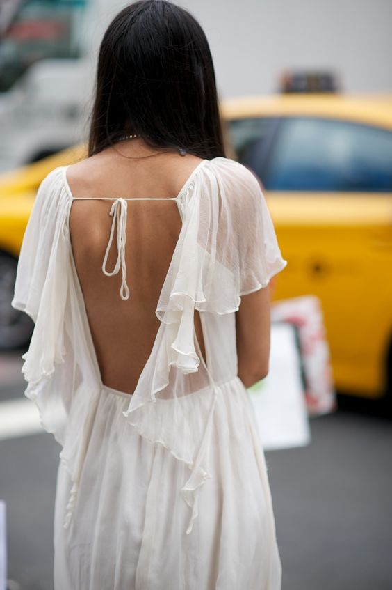frilly-ruffle-dress-street-style-fashion-week