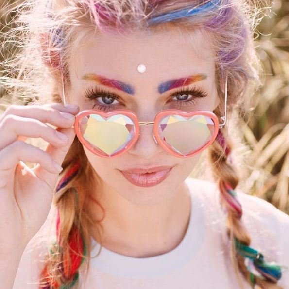GLITTER, BROWS, FASHION, STYLE, TREND, MULTI, RAINBOW, MAGICAL