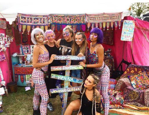 Gypsy-Shrine-makeup-glitter-festival-squad