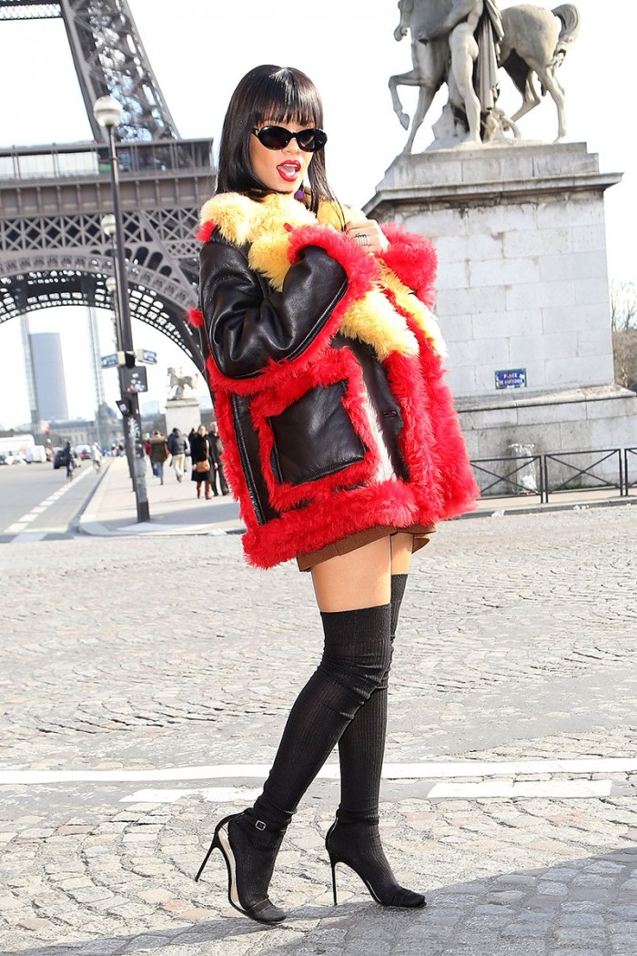 rihanna-street-style-fashion-week-fur-coat