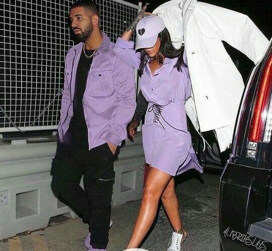 rihanna-street-style-drake-lilac-matching-purple