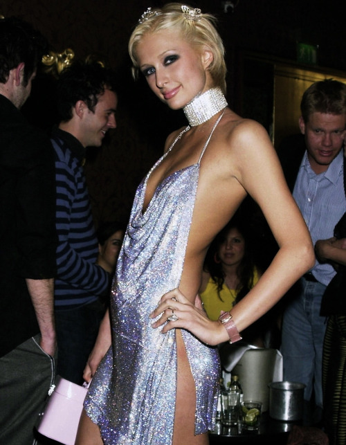 paris-hilton-sequin-party-dress-21st