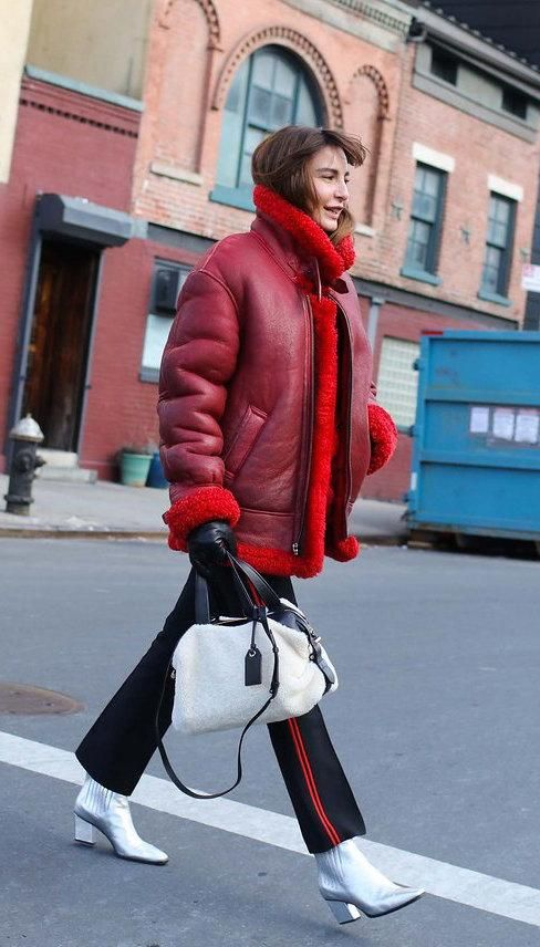 street-style-blogger-model-shearling-coat-jacket