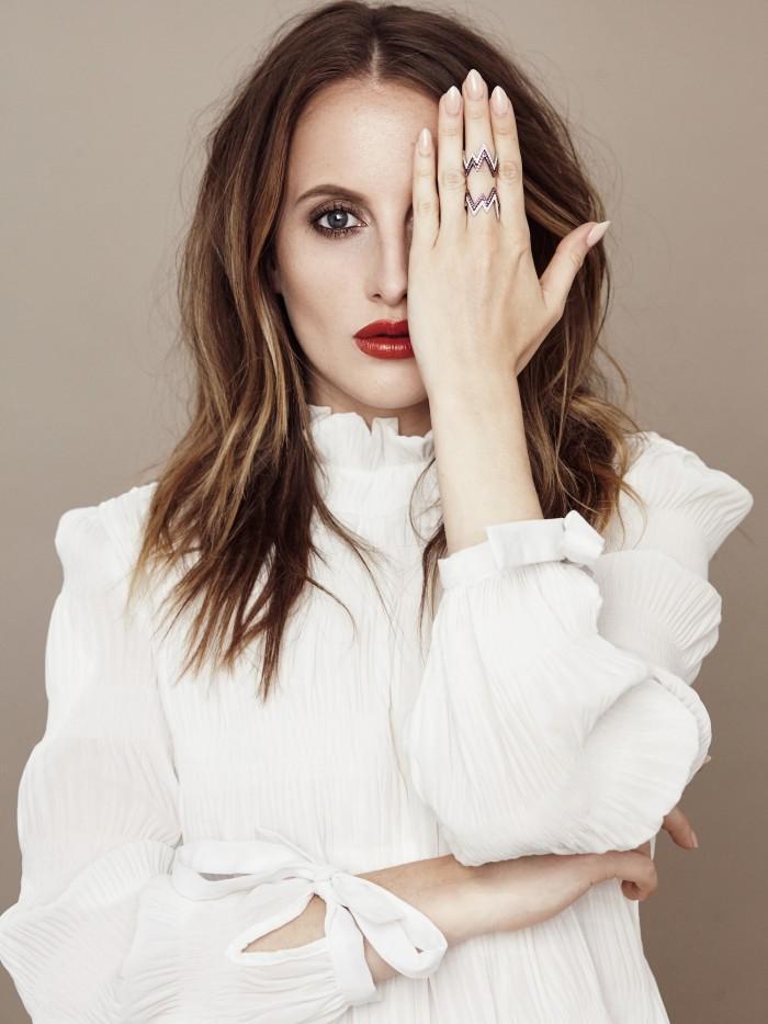 rosie fortescue jewellery designer campaign