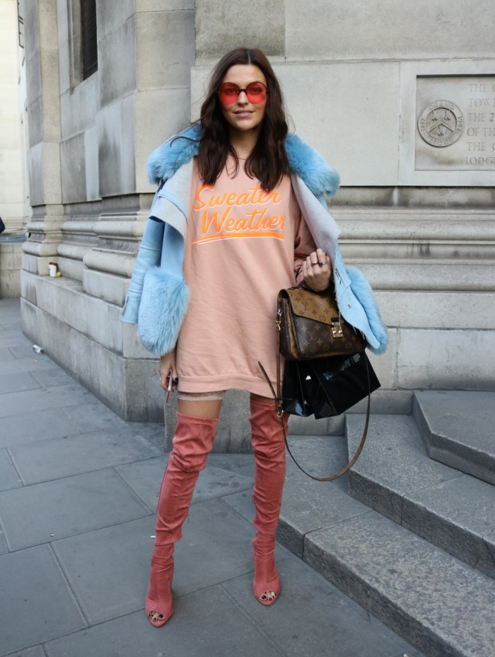 carms LFW london fashion week street style slogans