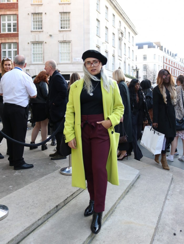 carms LFW london fashion week street style outerwear tailoring