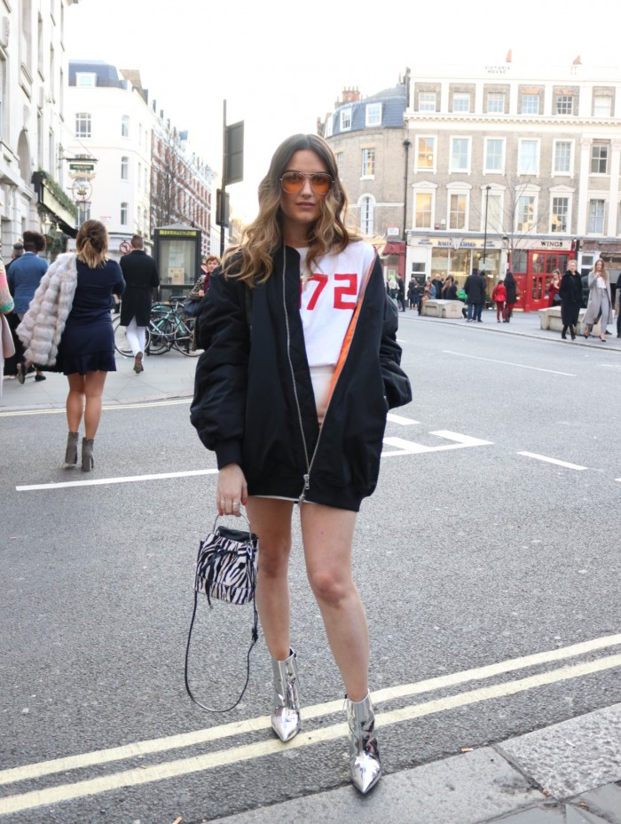carms LFW london fashion week street style sportswear