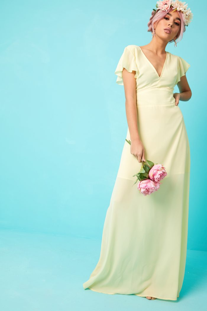 bridesmaid dress style guest dressing wedding