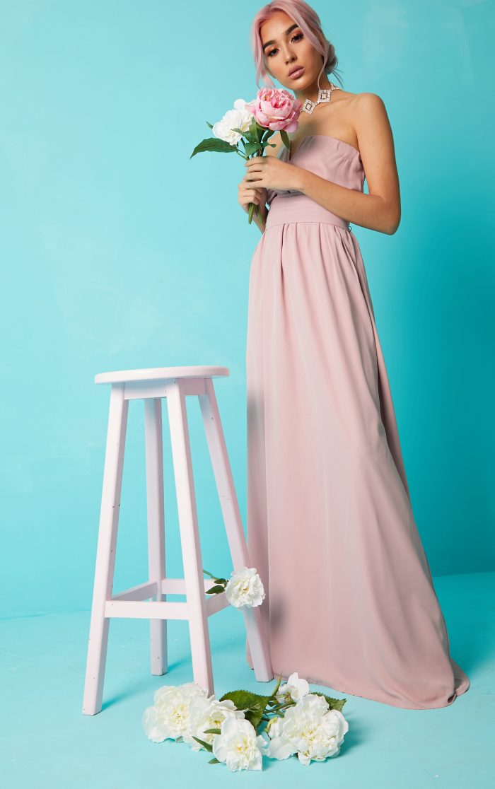 bridesmaid wedding guest dress
