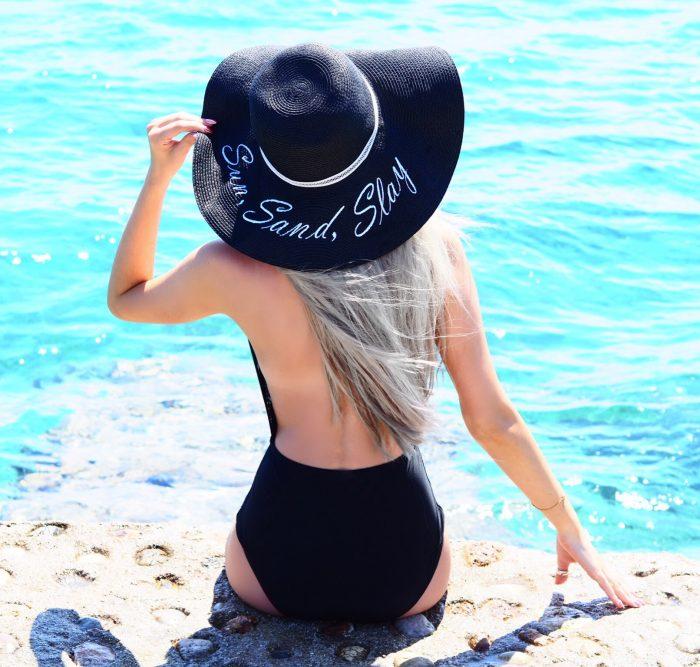 blogger swimwear holiday style