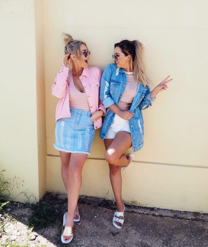 victoria hearn and kayleigh couture blogger BFFs