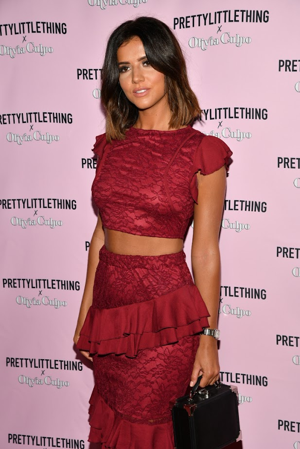 prettylittlething x olivia culpo party LA lucy meck