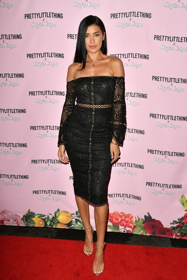prettylittlething x olivia culpo party LA nicole williams
