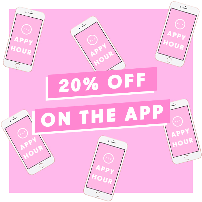 20% off the app