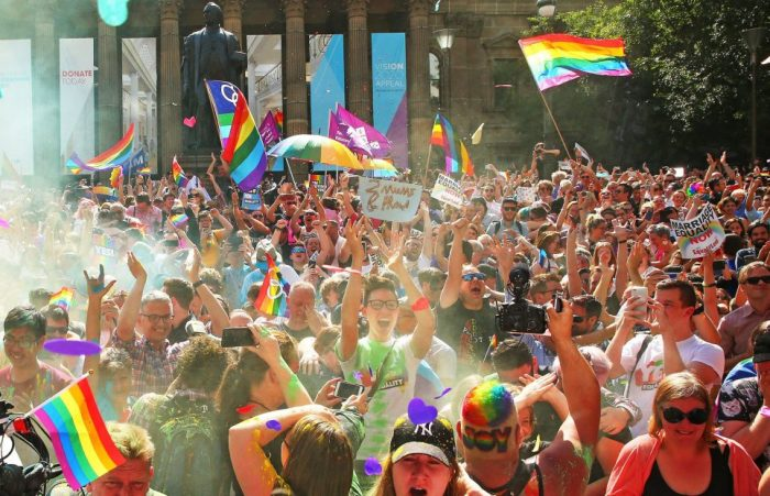 Australia legalises gay marriage