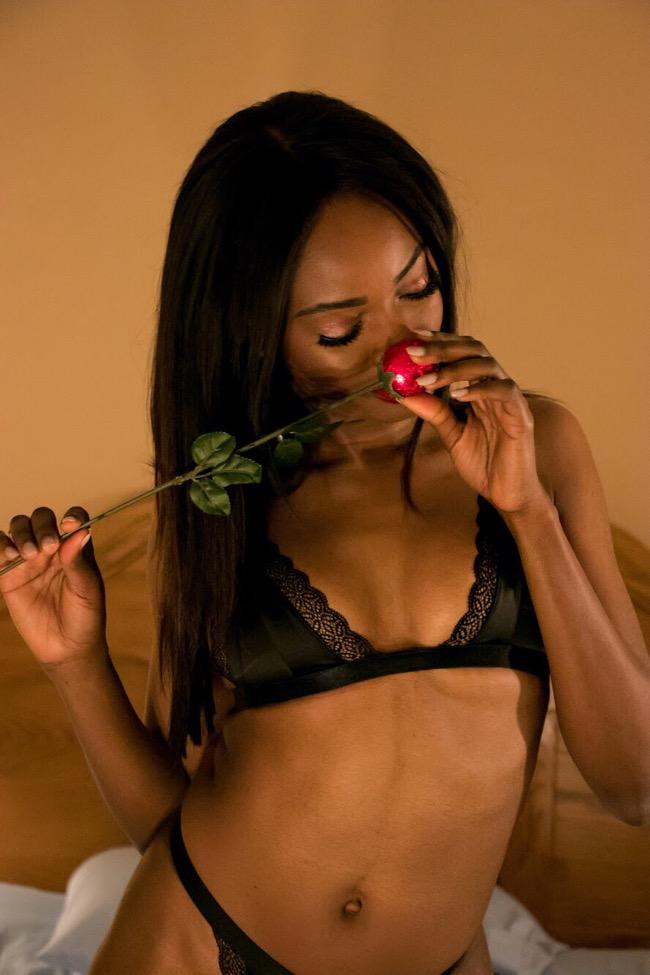 Blogger Valentine's Style Lingerie Set