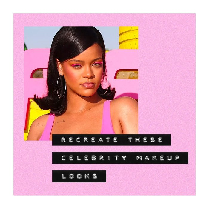 celebrity makeup looks