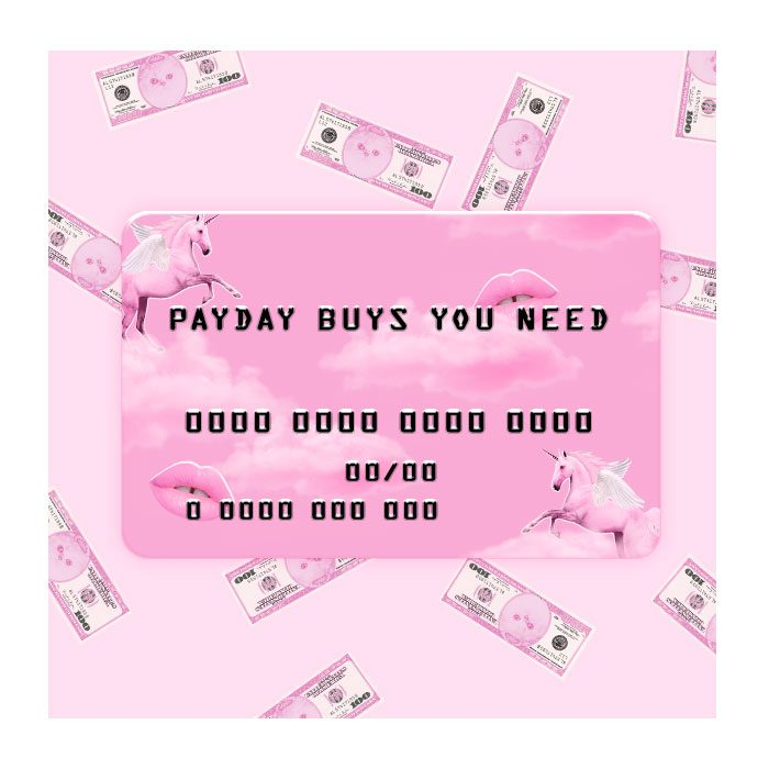 what to buy on payday