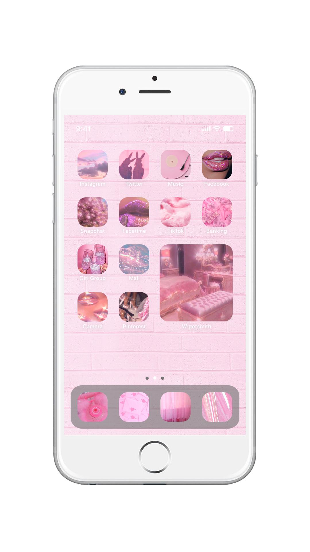 widget iphone aesthetic